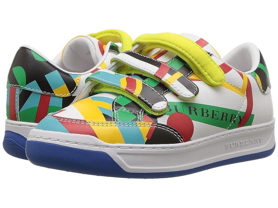 Burberry Kids Groves Sneaker (Toddler/Little Kid) (Multicolor) Kid