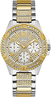 Guess watches ladies lady frontier Womens Analog Quartz Watch with Stainless Steel bracelet W1156L5