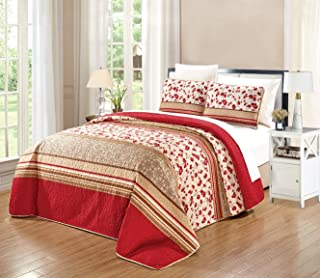 Best red and brown quilt Reviews