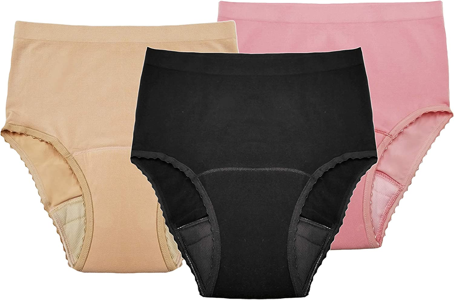 Comfort Finds Seamless NEW Incontinence Panty Inco - Womens Reusable New mail order
