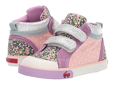 See Kai Run Kids Kya (Toddler/Little Kid) (Pink/Purple) Girl