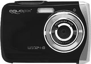 Easypix Aquapix W1024 - Cámara compacta digital (10 MP 2.4 zoom digital 4x VGA) color negro