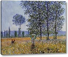 Sunlight Effect Under The Poplars by Claude Monet - 11