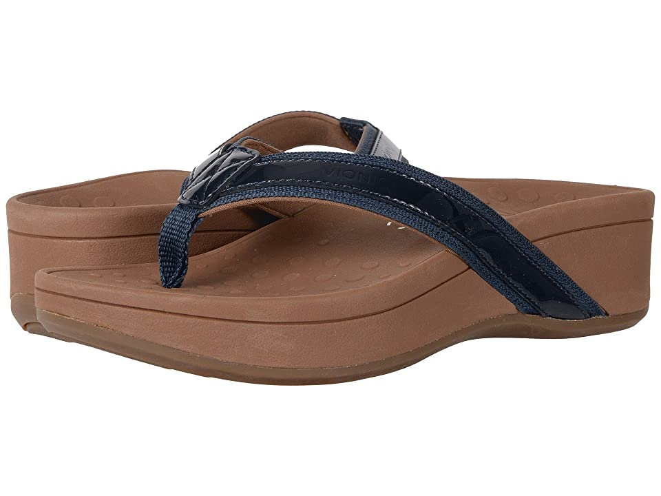 VIONIC High Tide (Navy Patent Leather) Women