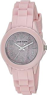 Anne Klein Women's AK/3239 Silicone Strap Watch