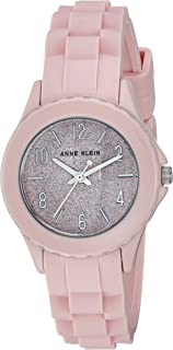 Anne Klein Women's AK/3239 Silicone Strap Watch