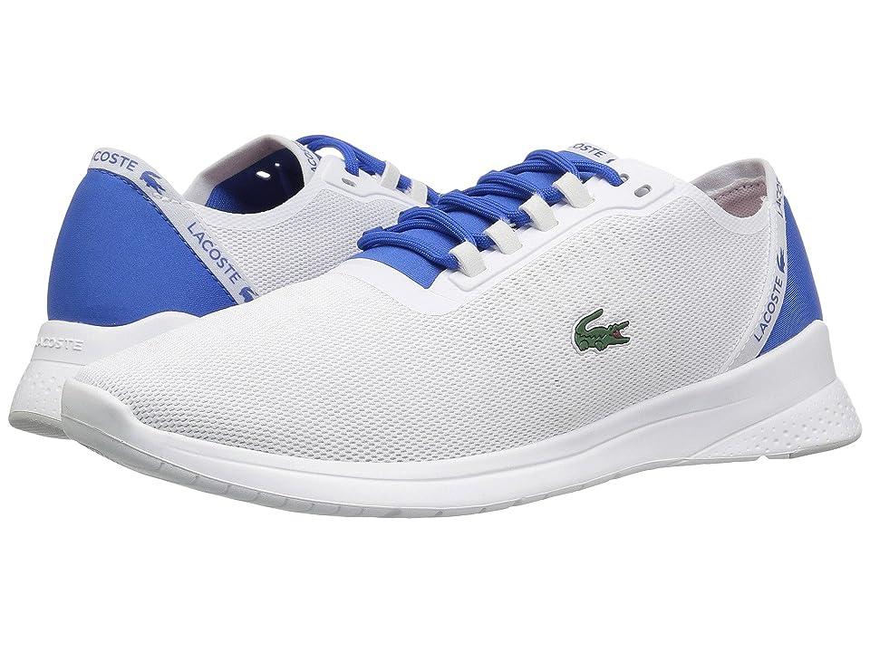 Lacoste LT Fit 118 4 (White/Blue) Men