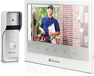 "Expandable Intercom & Video Doorphone with 7"" LCD Monitor - SWADS-DP885C"