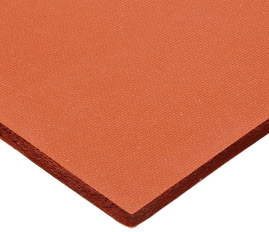 CS Hyde Silicone Sponge Rubber, Closed Cell, Commercial Grade, Medium Density, Acrylic Adhesive, 0.25