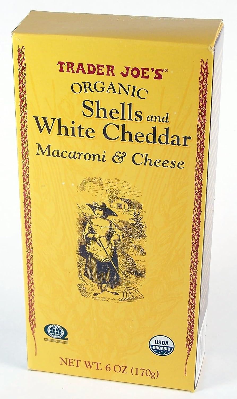 Trader Joe's Organic Shells Max 58% OFF White Cheddar online shopping Cheese Macaroni 6o
