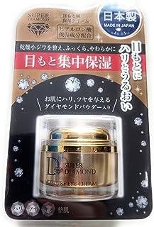 プレスカワジャパン スーパーダイヤモンド(ダイヤモンドパウダー入り保湿アイクリーム) 15g[日本製]
