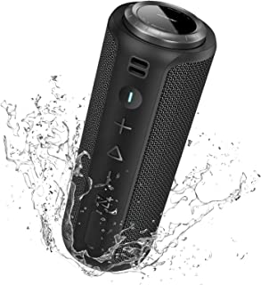 $65 » Sponsored Ad - Bluetooth Speaker, SONGLOW 40W Loud Portable Speaker with Rich Bass, PartySync Tech Links 200+ Wireless Spe...