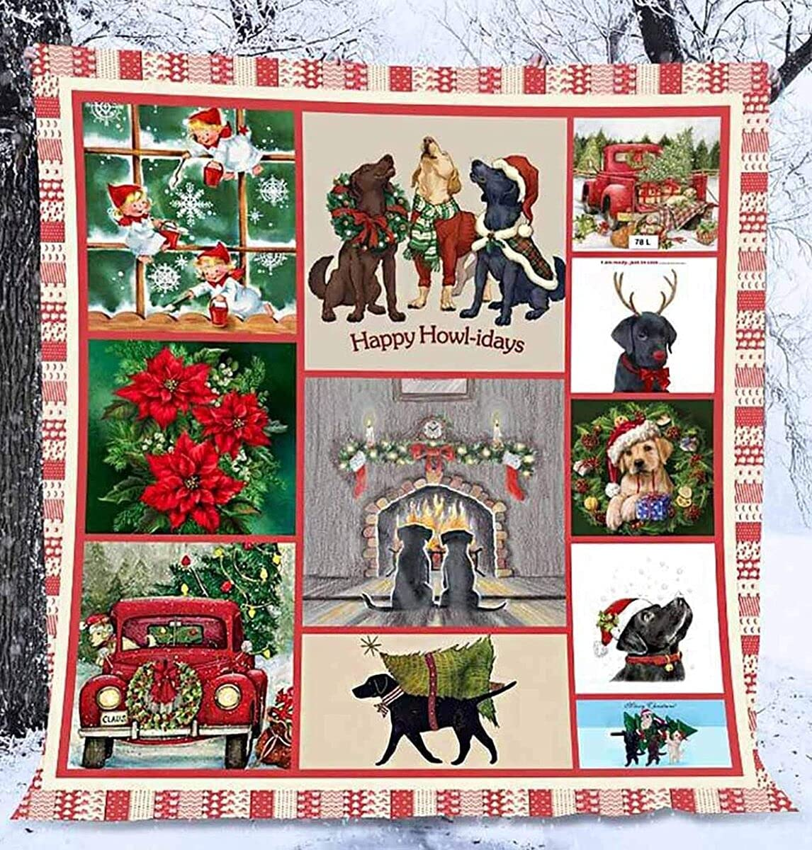 Personalized Labrador Max 59% OFF Retriever Because free shipping We Birth Need Quilt Love