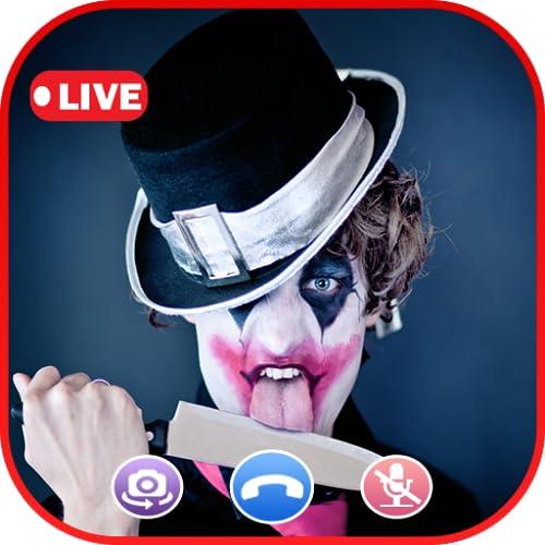 A Call From Killer Clown Video Call The Killer Clown - Prank Call Apps