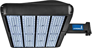Hyperikon LED Parking Lot Lights, Shoebox Pole Light, 480W (1400-1500W HID/HPS Replacement) 5700K, Street Lights, Photocell, IP65