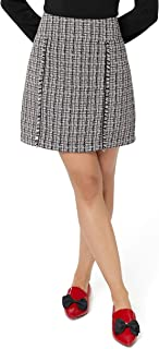 Review Women's Work It Skirt Black/Cream