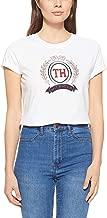 Tommy Hilfiger Women's WW0WW23682-White T-Shirts