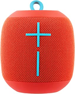 (Renewed) Ultimate Ears Wonderboom Portable Bluetooth Speakers (Red)