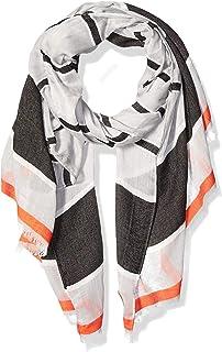 Calvin Klein Women's Striped Chambray Scarf