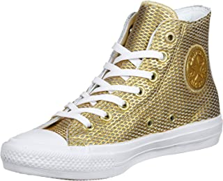 Chuck Taylor All Star Hi Gold/White/White (Medium / 5.5 B(M) US)