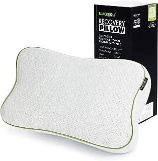 BLACKROLL® Recover Pillow – Almohada ortopédica HWS (Almohada Cervical) de Espuma viscoelástica – Fabricado en Alemania