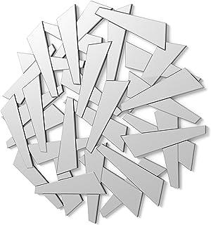 DekoArte E026 - Espejos Decorativos Modernos De Pared | Espejos Decoración para Tu Salón Dormitorio Entrada Recibidor | ...