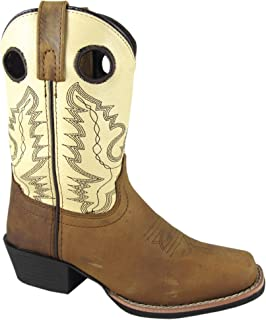 3850C Smoky Mountain Boys/' Leroy Western Boot Wide Square Toe