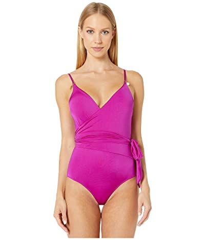 Stella McCartney Charms One-Piece Wrap (Bright Purple) Women