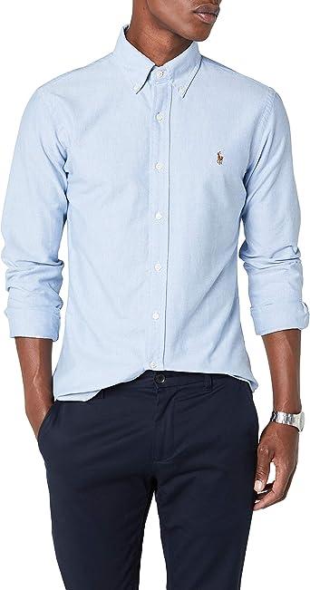 Ralph Lauren Slim Fit BD Ppc Camisa de Vestir para Hombre