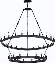 camino vintage chandelier