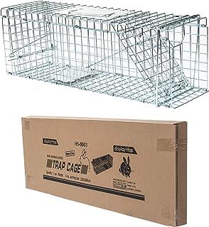 comprar comparacion D4P Display4top Animal Trap Cage Trampa de Captura de Animales Vivos, Gatos, Perros, Conejos, roedores
