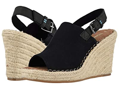 TOMS Monica (Black Oxford) Women