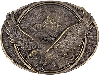 Soaring Eagle Heritage Attitude Belt Buckle, 3.63