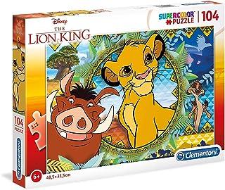 Clementoni- Supercolor Collection-Lion King-104 pièces- 27287