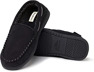 Men's Moccasin with Whipstitch Slipper