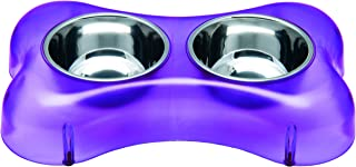 Loving Pets Osso Diner Bowl, Purple, Medium