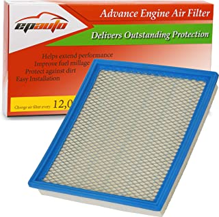 EPAuto GP440 (CA7440) Replacement for Infiniti/Nissan/Suzuki/Jeep Extra Guard Panel Air Filter for QX56 (2004-2010), Armada (2005-2015), Frontier V6 (2005-2018), NV1500 (2012-2018)