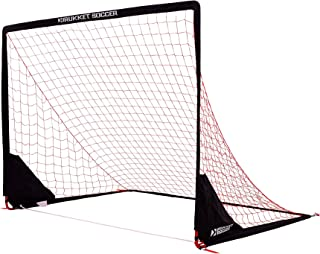 Rukket Portable Soccer Goal | Kids Youth Practice Foldable/Pop Up Soccer Net