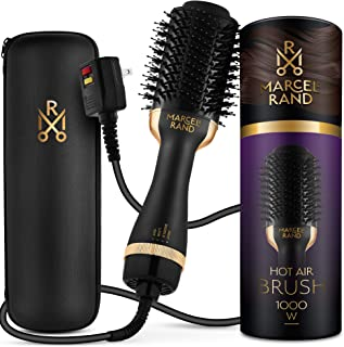 Professional Hair Dryer Brush for Women - 2 in 1 Volumizing Brush Dryer | Brush Blow Dryer with a Hard Travel Case and Pre...