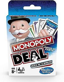 Hasbro Monopoly Deal (Gioco di Carte, Versione in Italiano), E3113103
