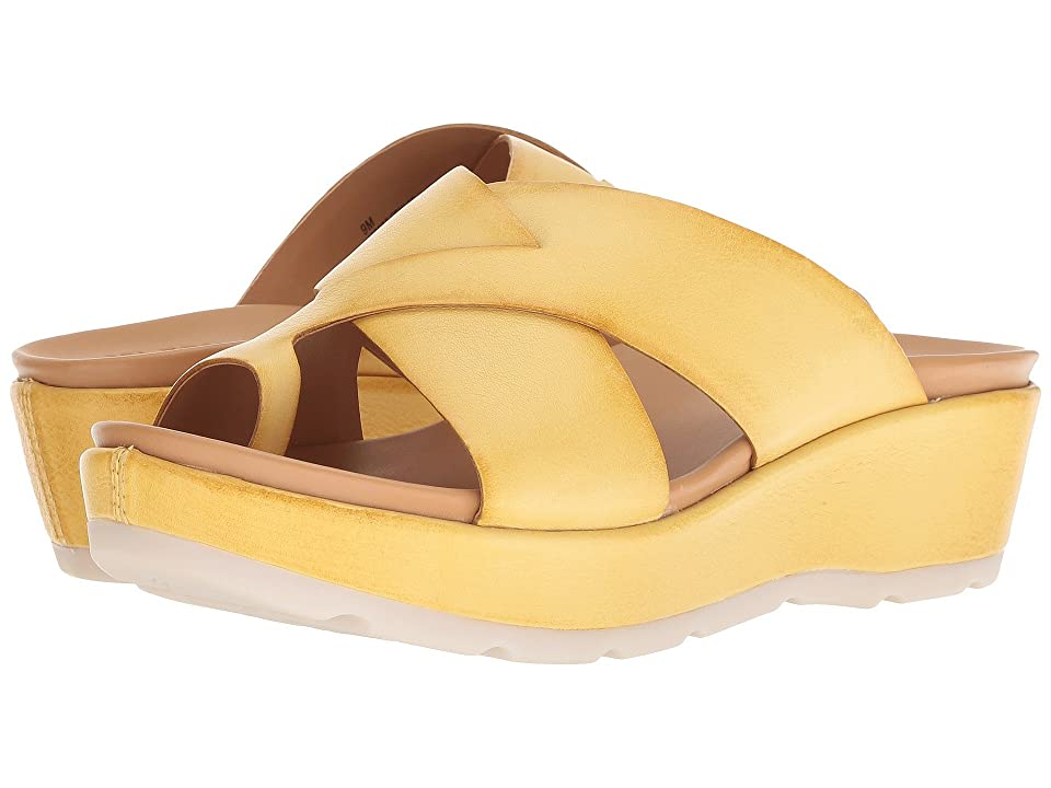 Kork-Ease Baja Sport (Yellow Full Grain Leather) Women