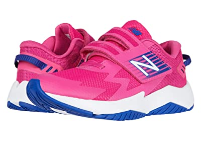 New Balance Kids Rave Run v1 (Little Kid) (Exhuberant Pink/Candy Pink) Girls Shoes