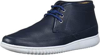 Driver Club USA Geuine Leather Ankle Chukka Boot with Sneaker Sole mens Ankle Boot