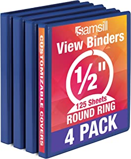 Best 1/4 inch 3 ring binders Reviews