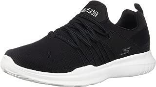 Skechers Performance Women's GO Run Mojo-14843 Sneaker,black/white,8 M US