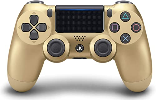 PlayStation DualShock 4 Wireless Controller for PlayStation 4 - Gold - Gold Edition