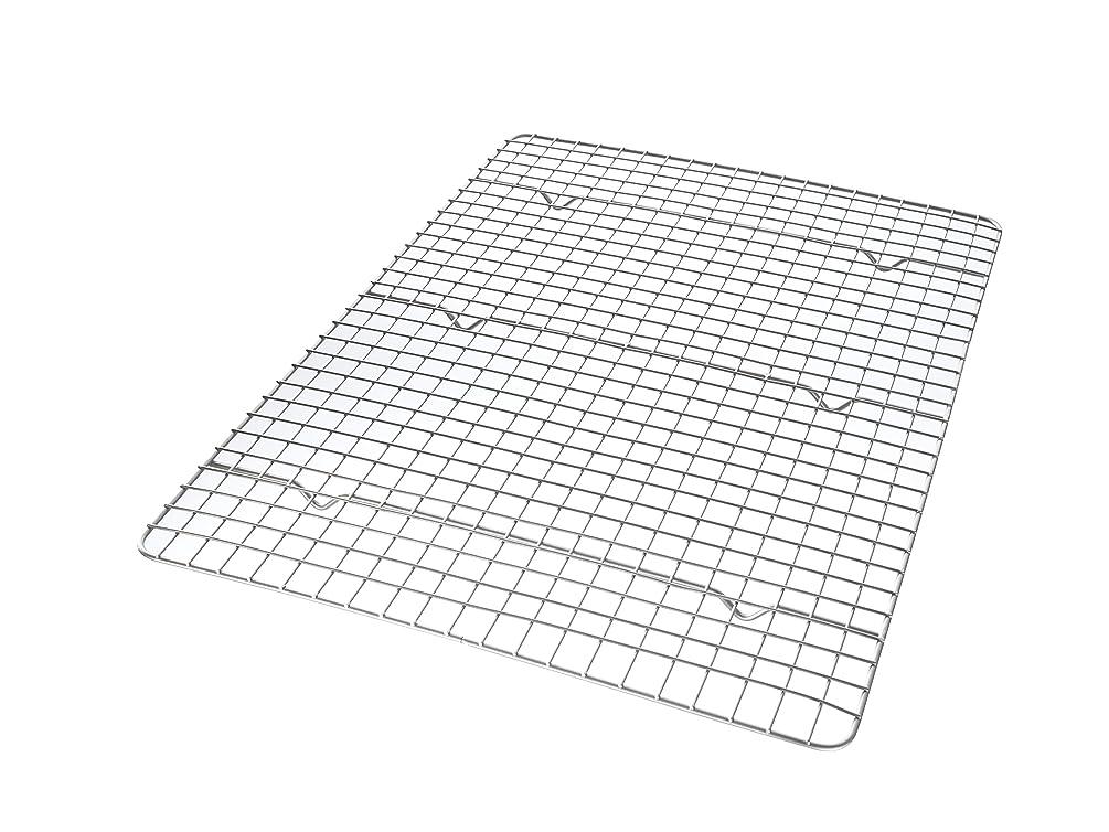 USA Pan 1602CR Half Sheet Bakeable Nonstick Cooling Rack, Pan, Metal