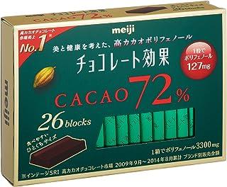 明治 チョコレート効果カカオ72% 26枚入り×6個