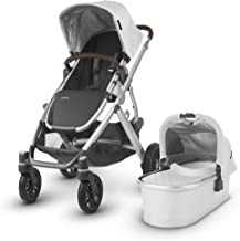 Best UPPAbaby 2018 Vista Stroller -Bryce (White Marl/Silver/Chestnut Leather) Review