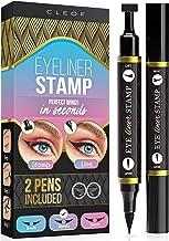 تم eyeliner - یک بال بالدار کامل یک ثانیه - سریع و آسان برای استفاده - اثبات بسیار رنگی ، ضد آب ، ضد لک - ضد خشونت و وگان - 2 قطعه چپ و راست - برای گربه های بی نقص